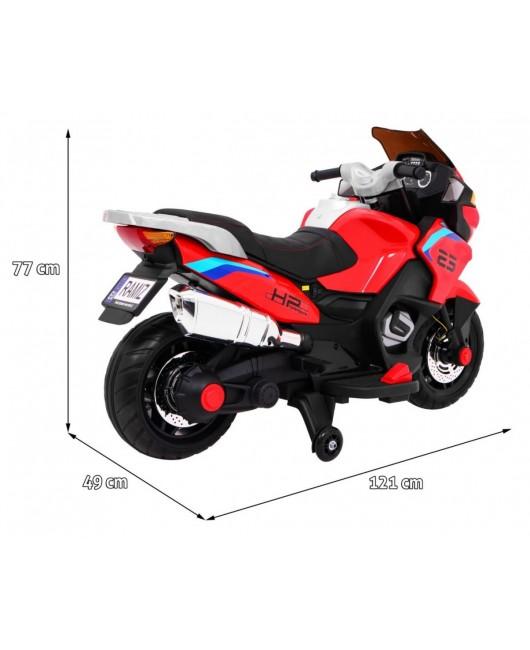 Elektrická motorka Sport Tourism červená